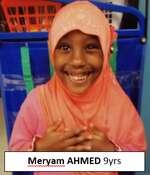 Meryam Ahmed, 9