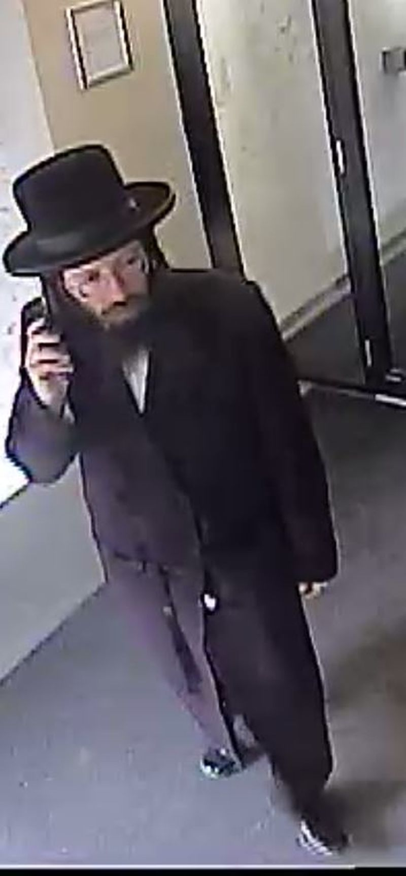 Security camera image of man in Sexual Assault investigation